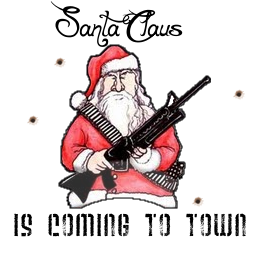 Badass Santa Spray preview