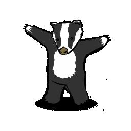 badger cartoon