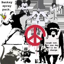 Banksy Spray Pack (5 Sprays)