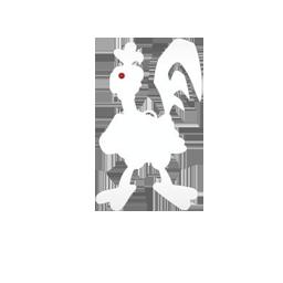 robot chicken logo {trans]