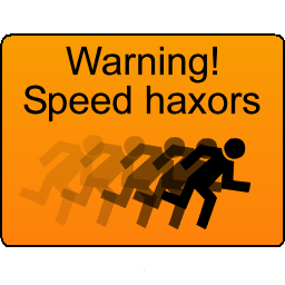 Speedhaxor warning