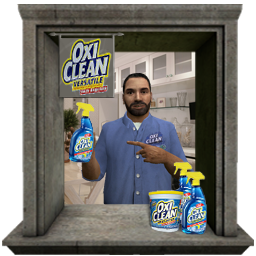 Billy mays invades CSS