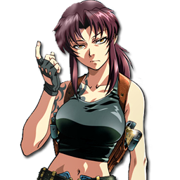 Anime girl - Black lagoon