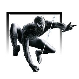 Black Suited Spider-Man