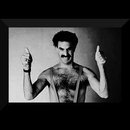 Borat ! high five  not