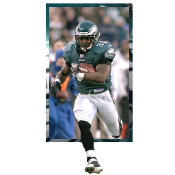 Brian Westbrook Spray preview