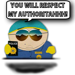 Cartman Authoritahhh!