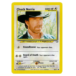 Chuck Norris Card preview