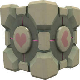 Weighted Companion Cube Spray preview