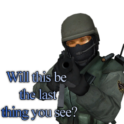 The last thing you see