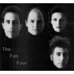 Seinfeld Fab four
