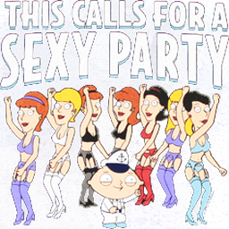 This calls for a sexy party!