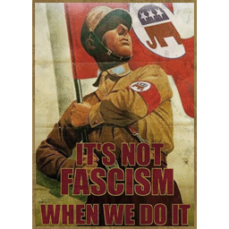 It's Not Fascism
