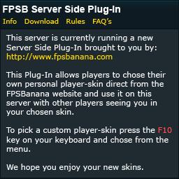 FPSB Server Side Plug-In