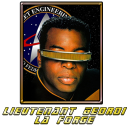 Star Trek Geordi la Forge
