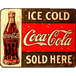 Ice Cold Coca Cola Sold Here