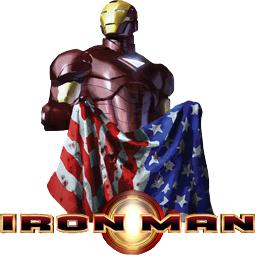 American Flag-Iron Man
