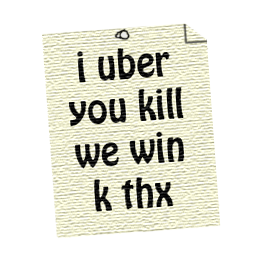 I uber you kill we win k thx preview