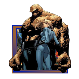 The Thing and Invisible Woman