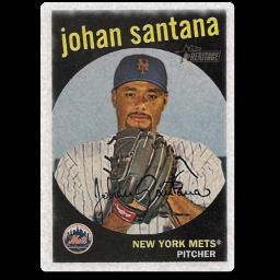 Old Johan Santana Card