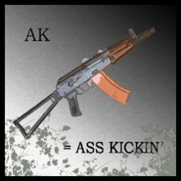 AK = A$$ Kickin'
