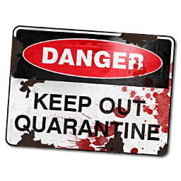 Quarantine Sign