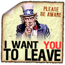 I want you to Leave Spray preview