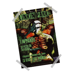 Linkin Park Poster Spray preview