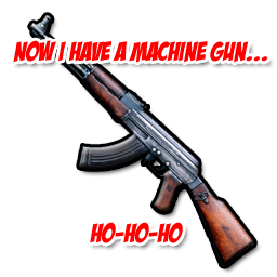 Now I Have a Machine Gun