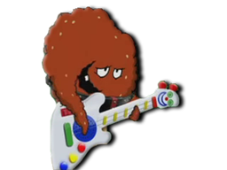 Meatwad with Guitar
