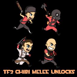 TF2 Chibi Melee Unlock Sprays Spray preview
