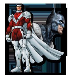 Mr Majestic & Batman