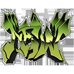 "Graffiti spray ""NEW"""