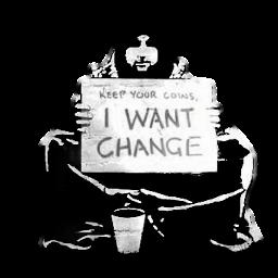Want change?