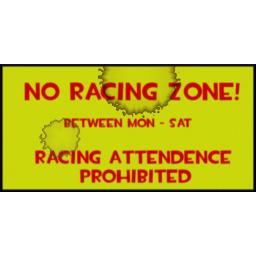 No Racing