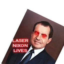 Laser Nixon Lives
