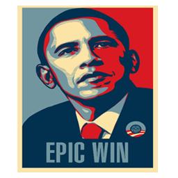 Obama Epic Win