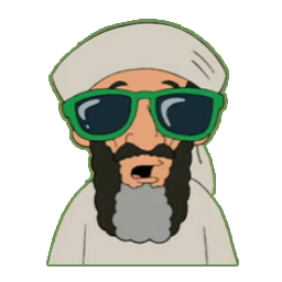 Osama with Glasses