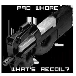 P90 recoil.
