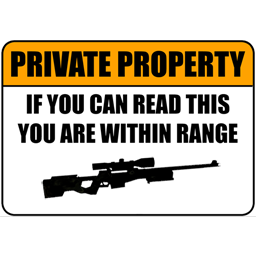 Private Property [Counter-Strike: Source] [Sprays]