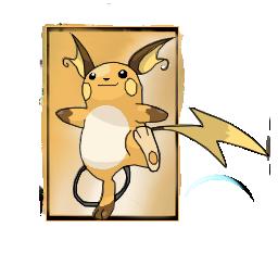 Raichu - Pokémon