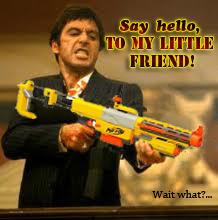My little friend! wait what?
