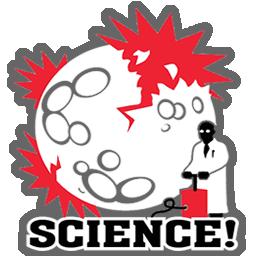 Science Moon Explotion