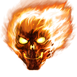 Skull is on fire gamebanana sprays skull is on fire voltagebd Choice Image
