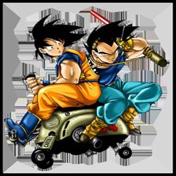 SonGoku and Vegeta