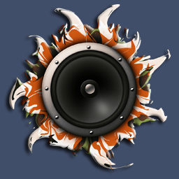 abstract speaker [transparent]