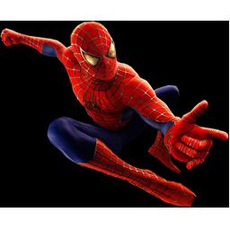 Spiderman glide.
