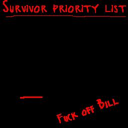 Survivor Priority List