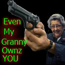 ANIMATED Granny Ownz You Spray preview