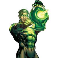 Green Lantern w/ lantern